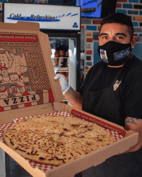 The Salvadorian restaurant La Pupusa Urban Eater