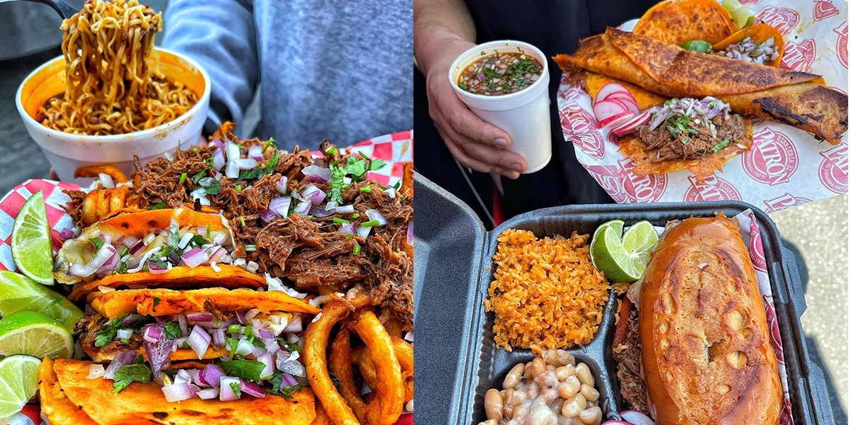This L.A. Food Truck Is Fusing Birria With Pizza And Ramen, And It's Fire