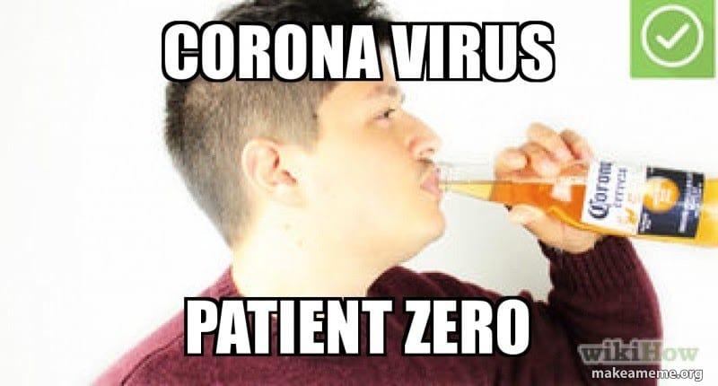 meme corona with lyme